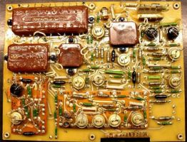 Содержание драгоценных металлов в составе радиодеталей