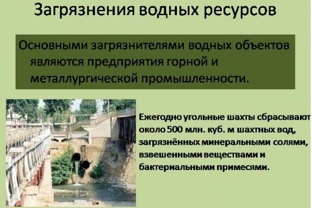 Экологическая ситуация Шахты