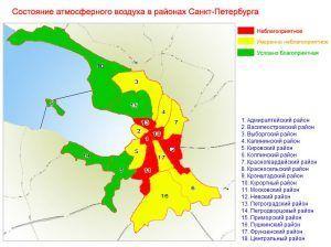 Экология в Санкт-Петербурге