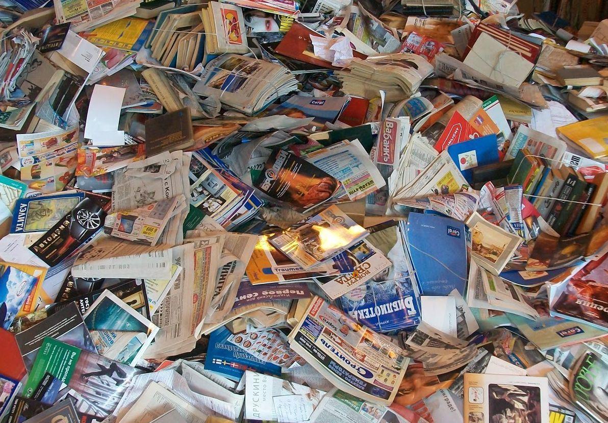 сдать книги в макулатуру в москве