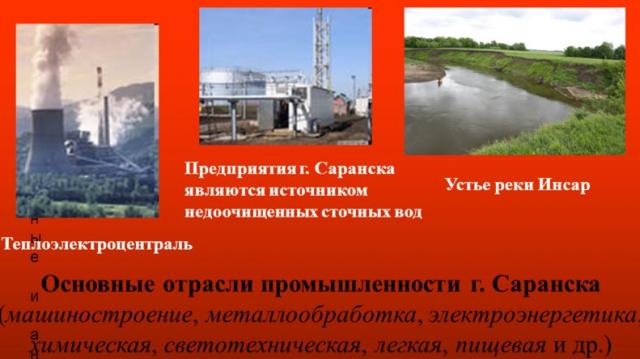 Промышленность Саранска