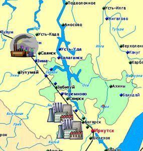 Промышленность иркутской области