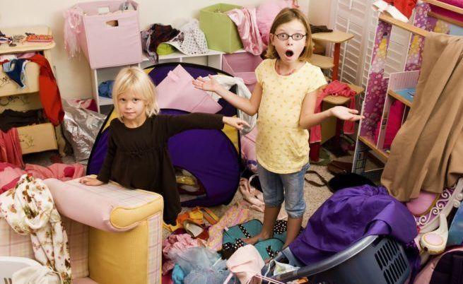 Беспорядок одежды