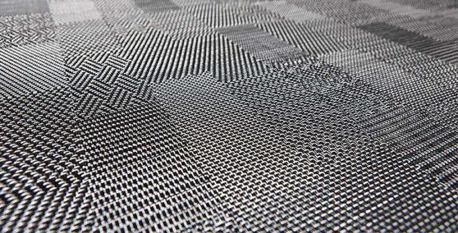Напольное покрытие из отходов текстиля