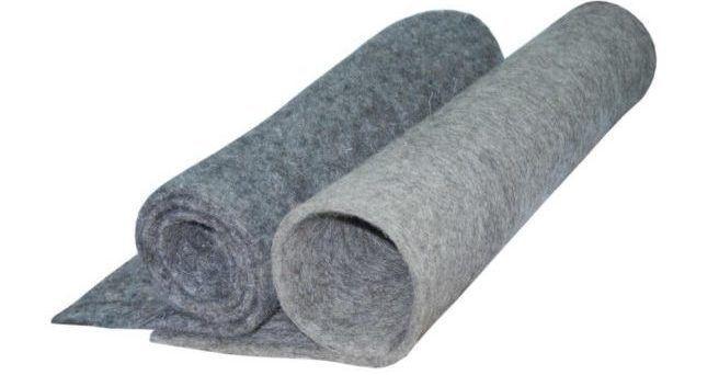 Нетканые материалы для изготовления стелек и домашней обуви (войлок)