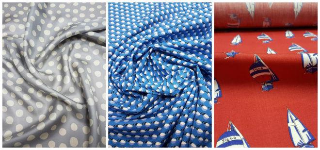 Новые ткани полученные из переработанного текстиля