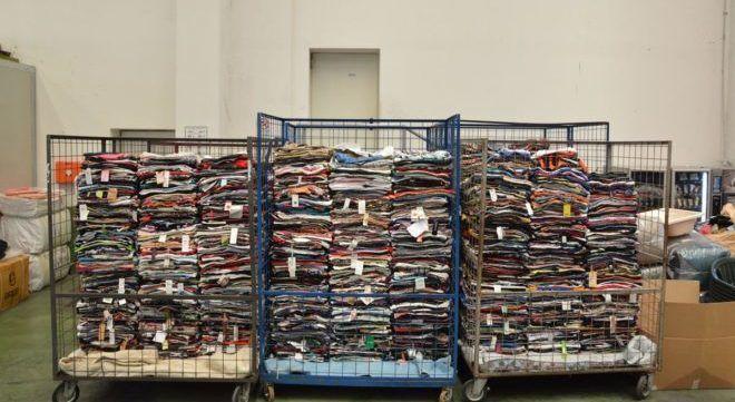 Одежда для переработки