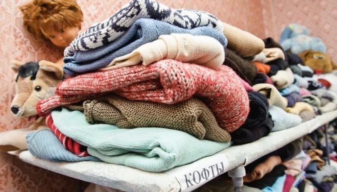 Отдать одежду малоимущим