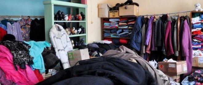 Пункт выдачи одежды