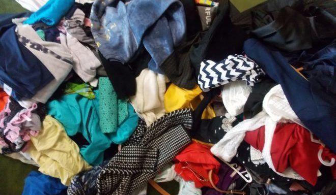 Расхламления одежды