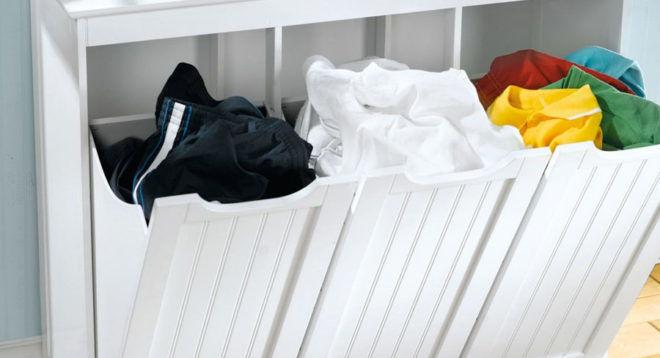 Сортировка одежды по типу материала