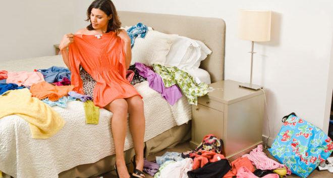 Уборка гардероба