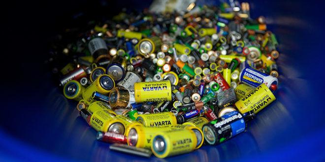 Батарейки их утилизация