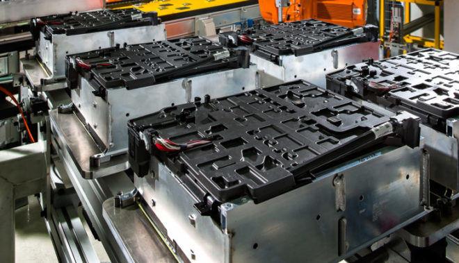 Этапы переработки аккумуляторов