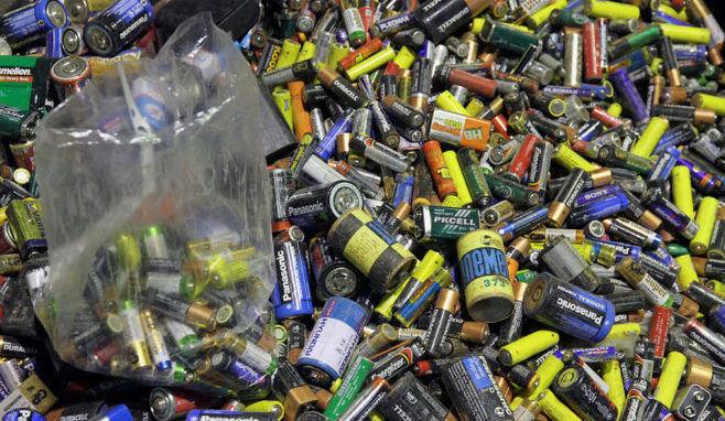 Как перерабатывают батарейки