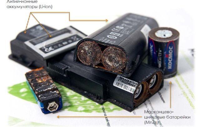 Как перерабатываются батарейки