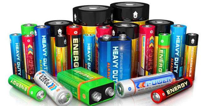 Разновидность батареек