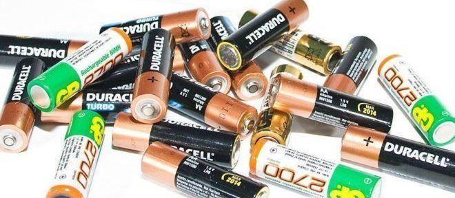 Новые батарее