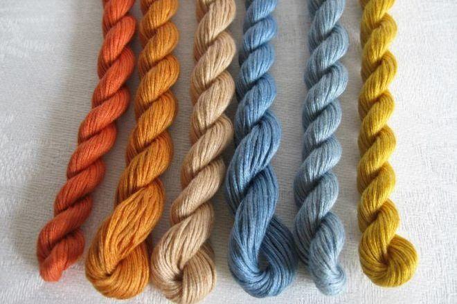 Новые нитки