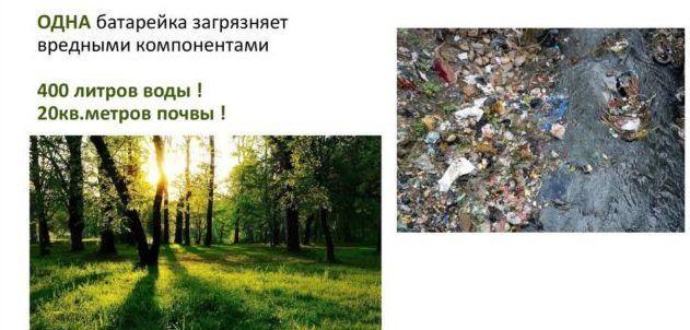 Отравление природы