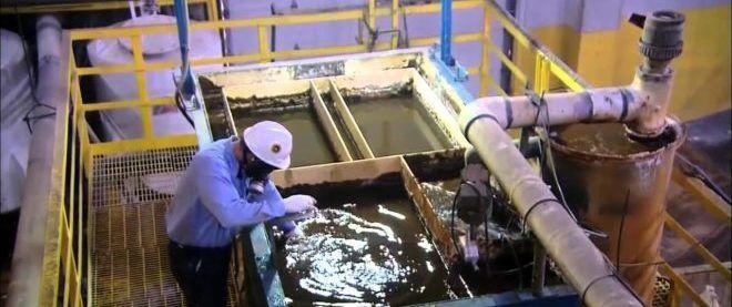 Переработка аккумуляторов в жидкий метал