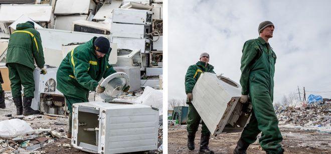 Переработка и утилизация бытовых отходов в наши дни