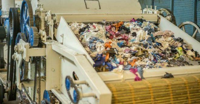Переработка тканей и одежды