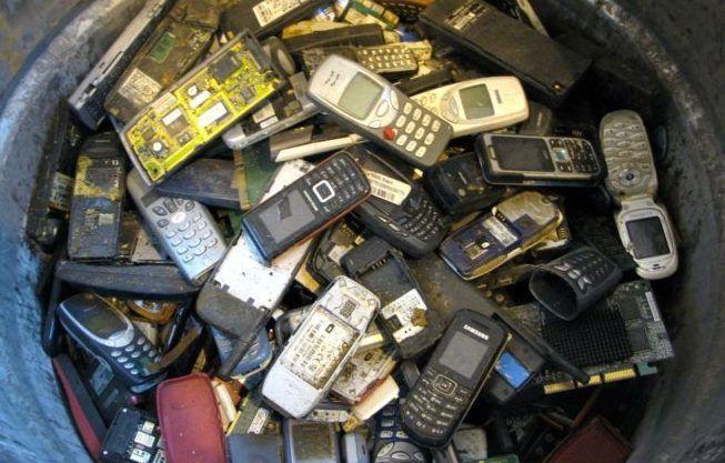 Процесс переработки аккумуляторов