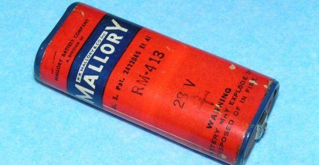 Ртутная батарейка