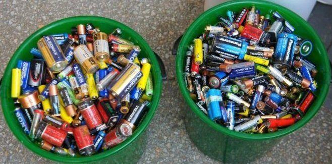 Сбор батареек
