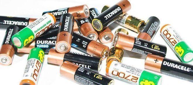 Сбор использованных батареек