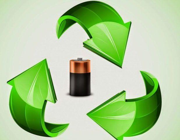 Сбор отработанных батареек для утилизации