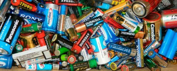 Сдача батареек