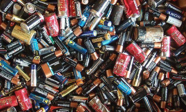 Сдать отработанные батарейки