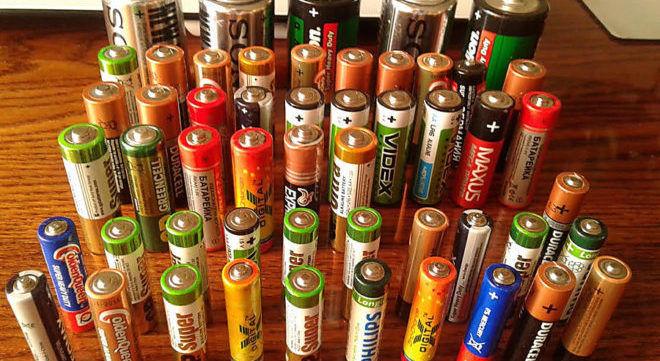 Сдавать батарейки в утилизацию