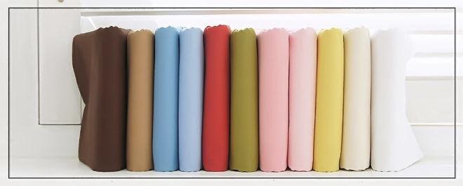 Сортировка текстиля по материалу и цвету