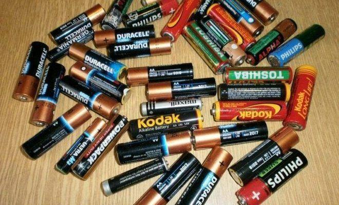Старые батарейки