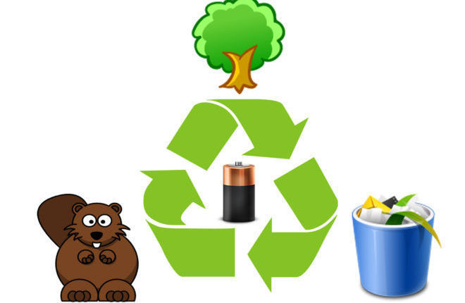 Утилизация батареек и вред