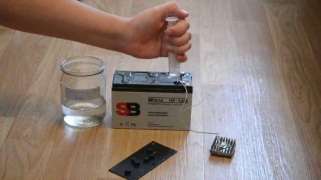 Восстановление аккумуляторов