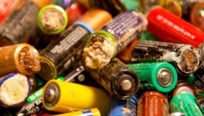 Выброшенные батарейки отравляют экологию