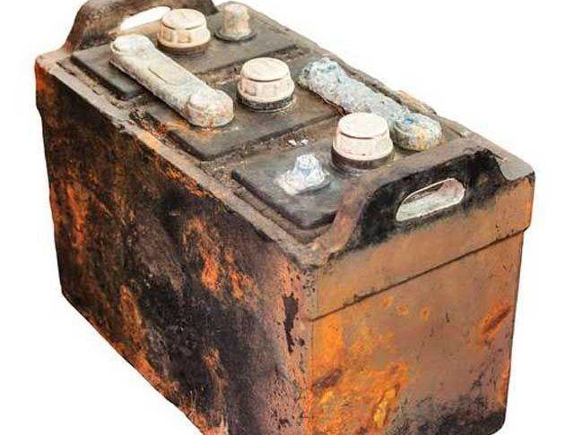 Аккумулятор на металл