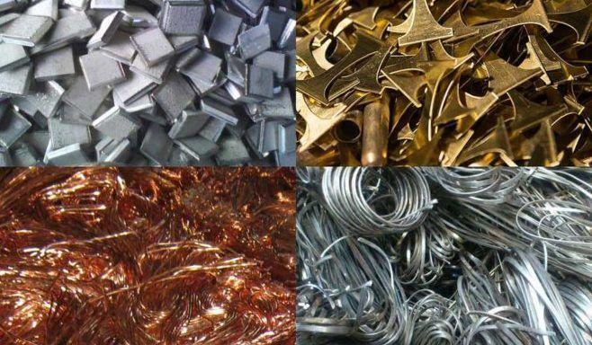Черные и цветные металлы