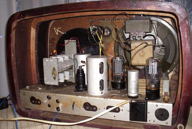 Медь из старых телевизоров