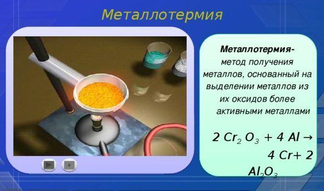 Металлотермия