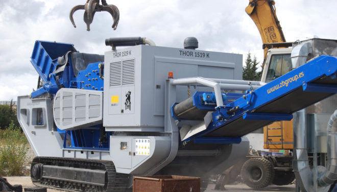 Оборудование для сепарирования металла