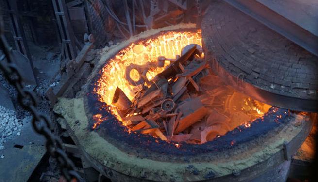 Печи для плавки металлолома