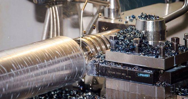 Процесс токарной обработки металла