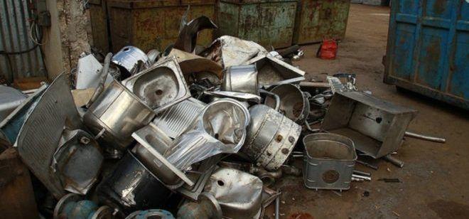 Сдача бытового металлолома
