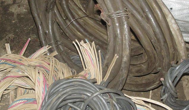 Сдача кабеля на лом