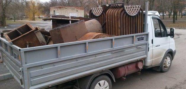 Транспорт для вывоза лома